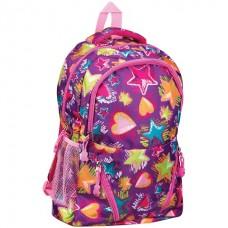 Рюкзак ArtSpace Pattern 45*30*13cм, 1 отделение, 5 карманов, уплотненная спинка