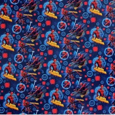 Бумага упаковочная глянцевая С Днем Рождения! Человек-паук, 70*100 см