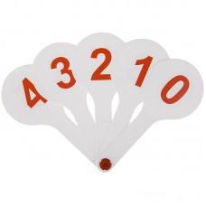 Веер-касса цифр от 0 до 9, ArtSpace