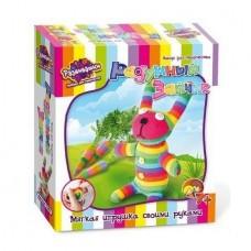 Набор для творчества Мягкая игрушка своими руками - Радужный зайчик