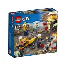 Конструктор LEGO City Mining Бригада шахтеров
