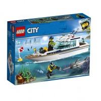 Конструктор LEGO City Яхта для дайвинга