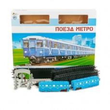 Железная дорога ИГРАЕМ ВМЕСТЕ Метро, на бат. свет+звук, 695 см, с аксесс.