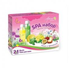 Набор для мыловарения Мыло и пена для ванн - Банан и тропикано
