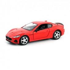 Машина металлическая RMZ City 1:32 Maserati GranTurismo MC 2018 (цвет красный)