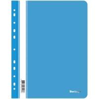 Папка-скоросшиватель пластик А4 перф. Berlingo, 180мкм, синяя