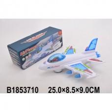 Самолет на бат. свет+звук в кор. b1853710