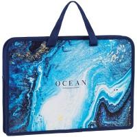 Папка с ручками А4 40мм ArtSpace Ocean, печать на пластике