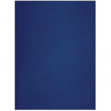 Тетрадь А4 96л клетка OfficeSpace, бумвинил, синий