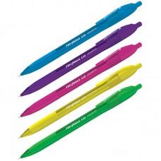 Ручка шарик. синяя автомат. 0,7мм Triangle 110 RT Color, трехгран., игольчатый стержень