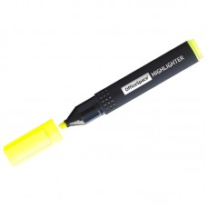 Текстовыделитель желтый, 1-4мм