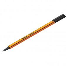 Ручка капиллярная Berlingo Rapido черная, 0,4мм, трехгранная