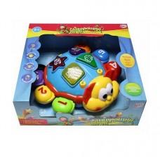 Развивающая игрушка Активный кроха - Танцующий жук (свет, звук)