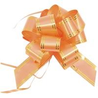 Бант Veld-co Шар, 30*1000 мм, оранжевый с золотом