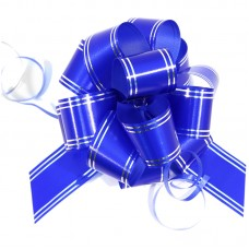 Бант Veld-co Шар, 30*1000 мм, синий с серебром