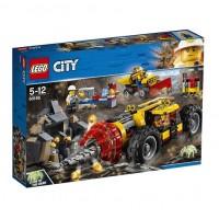 Конструктор LEGO City Тяжелый бур для горных работ