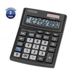 Калькулятор настольный Citizen Business Line CMB, 10 разр., двойное питание, 102*137*31мм, черный