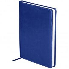 Ежедневник недатированный A5 136л., кожзам, OfficeSpace Nebraska, синий