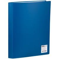 Папка с 60 вкладышами OfficeSpace 35мм, 400мкм, синяя