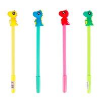 Ручка гелевая с топпером Каваи, синяя, дракончик, ассорти
