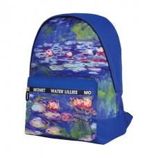 Рюкзак Berlingo Art Водяные лилии 40*29*16 см, 1 отделение, 1 карман, уплотненная спинка