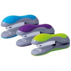Степлер №24/6, 26/6 Berlingo Office Soft до 25л., пластиковый корпус, ассорти