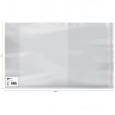 Обложка 220*380 для рабочих тетрадей, прописей, универсальная с липким слоем, ПП 80мкм