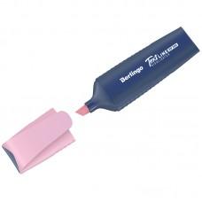 Текстовыделитель Berlingo Textline HP200, пастельный цвет, фламинго, 1-5мм