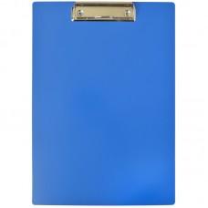 Планшет с зажимом А4 OfficeSpace, пластик, синий