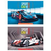 Альбом 40л на скрепке Cool sport car