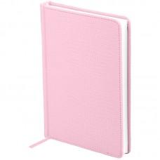 Ежедневник недатированный A5 160л., кожзам, OfficeSpace Reptile, светло-розовый