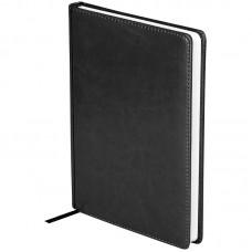 Ежедневник недатированный A5 136л., кожзам, OfficeSpace Nebraska, черный
