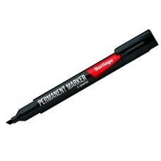 Маркер перманентный (черный) Berlingo, скошенный, 0,5-4мм