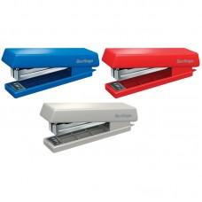 Степлер №10 Berlingo до 10л., пластиковый корпус, цвет ассорти