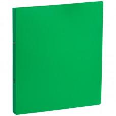 Папка на 2-х кольцах OfficeSpace, 35мм, 500мкм, зеленая