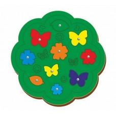 Магнитная рыбалка Бабочки и цветочки