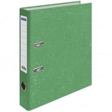 Папка-регистратор OfficeSpace, 50мм, мрамор, зеленая