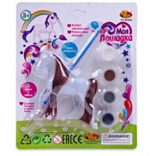 Лошадка Моя лошадка, в наборе для раскраски, 6 предметов