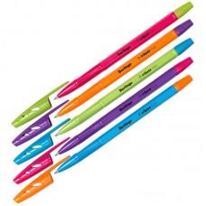 Ручка шарик. синяя 0,7мм Berlingo Tribase Fuze