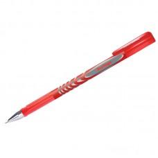 Ручка гелевая красная 0,5мм Berlingo G-Line, игольчатый стержень