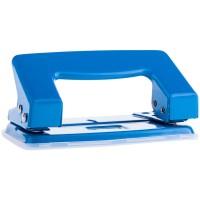 Дырокол OfficeSpace 10л, металлический, синий