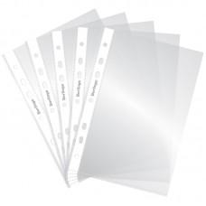 Папка-вкладыш (файл) с перфорацией А5 30мкм Berlingo, глянцевая