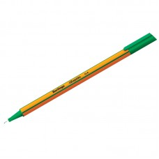 Ручка капиллярная Berlingo Rapido зеленая, 0,4мм, трехгранная