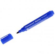 Маркер перманентный (синий) OfficeSpace 8004, пулевидный, 2мм