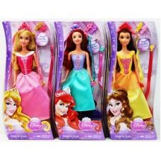 Кукла Disney Princess Модные прически, с аксессуарами (А)