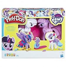 Play-Doh Твайлайт и Рарити