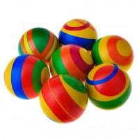 Мяч лакир. полоса, d 12,5 см