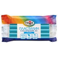 Пластилин Гамма Классический, голубой, 50г