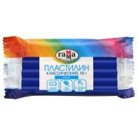 Пластилин Гамма Классический, синий, 50г