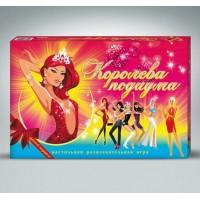 Игра Королева подиума (Россия), поле, кубик, 4 фишки, 123 карточки, инструкция